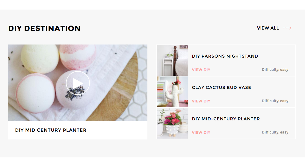 More blog styles on A Beautiful mess