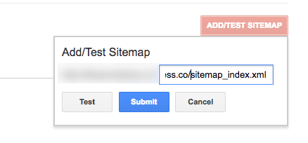 Submitting your sitemap to Google Search Console